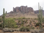 Superstition Mountains, AZ