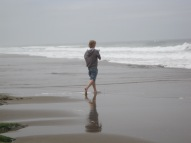 Youngest son at Lincoln City