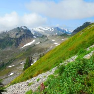 slopes of Mount Baker