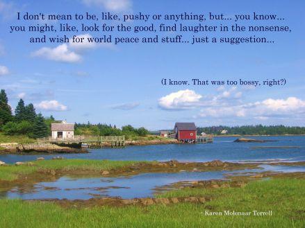 photo taken in Nova Scotia by Karen Molenaar Terrell