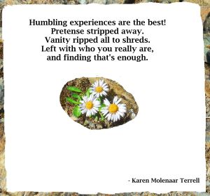 humbling experienced