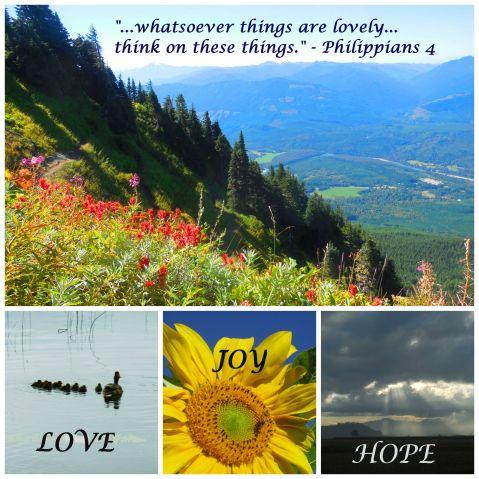 love joy hope