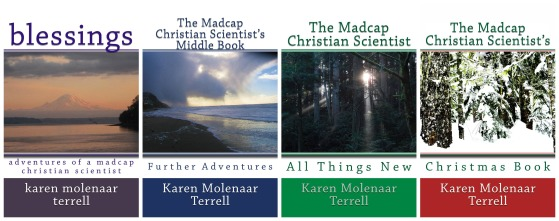 Madcap collage for four books