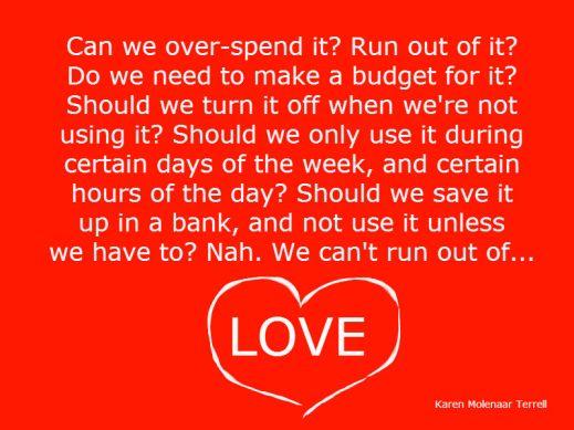 budgeting love