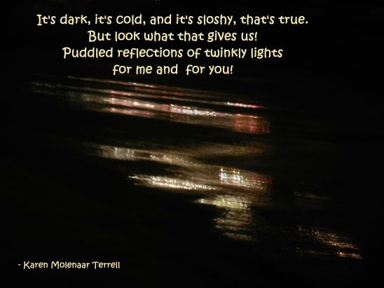 puddled reflection