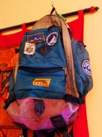 Dee Molenaar's pack