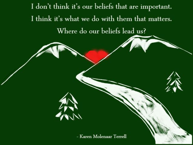 where do our beliefs lead us
