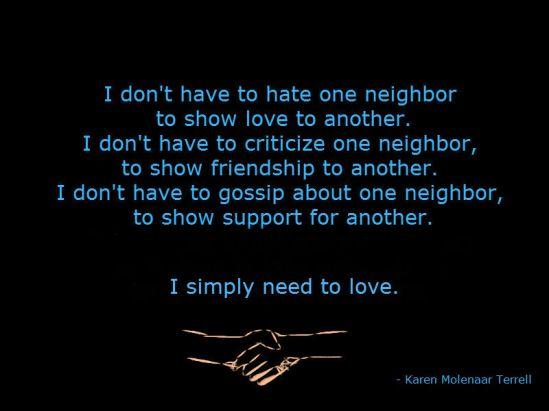 neighborliness 2