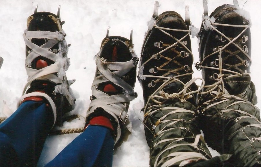 climbing boots Karen Dad