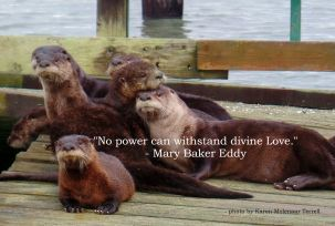 no power can withstand divine Love