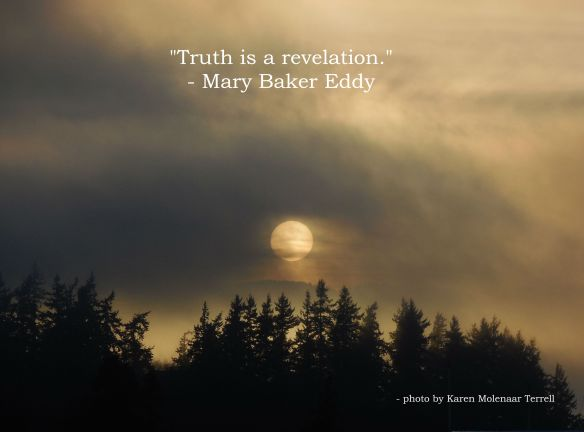 Truth is a revelation
