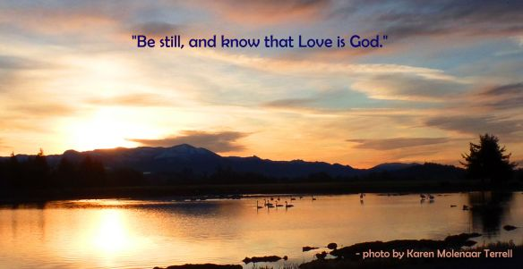 Be still and know 2