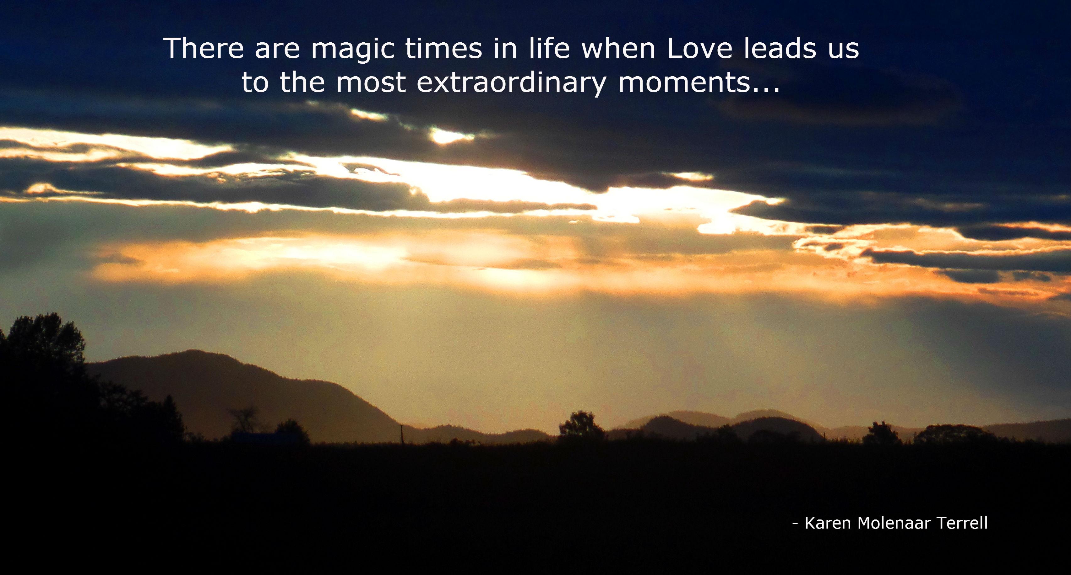 extraordinary moments