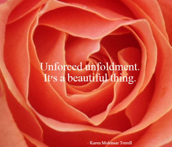 unforced unfoldment
