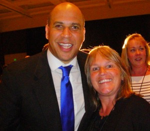 Cory Booker and Karen