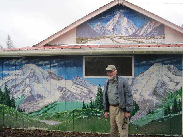 Dad and his mural
