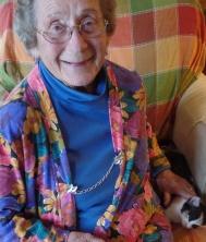 Grandma with Clara