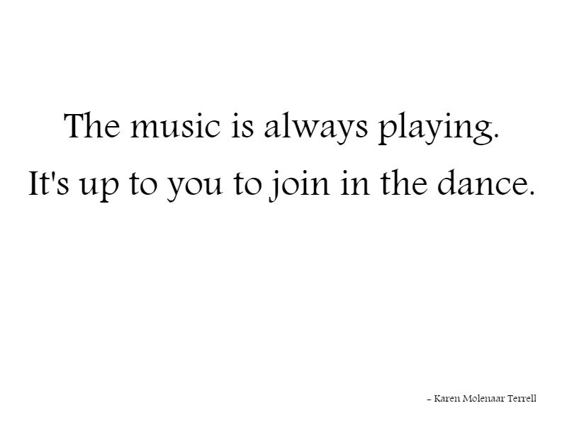 music always playing