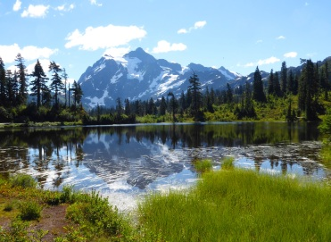 Shuksan Reflection (photo by Karen Molenaar Terrell)