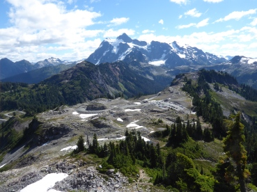 Mount Shuksan from Table Mountain