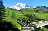 Mount Rainier (photo by Karen Molenaar Terrell)