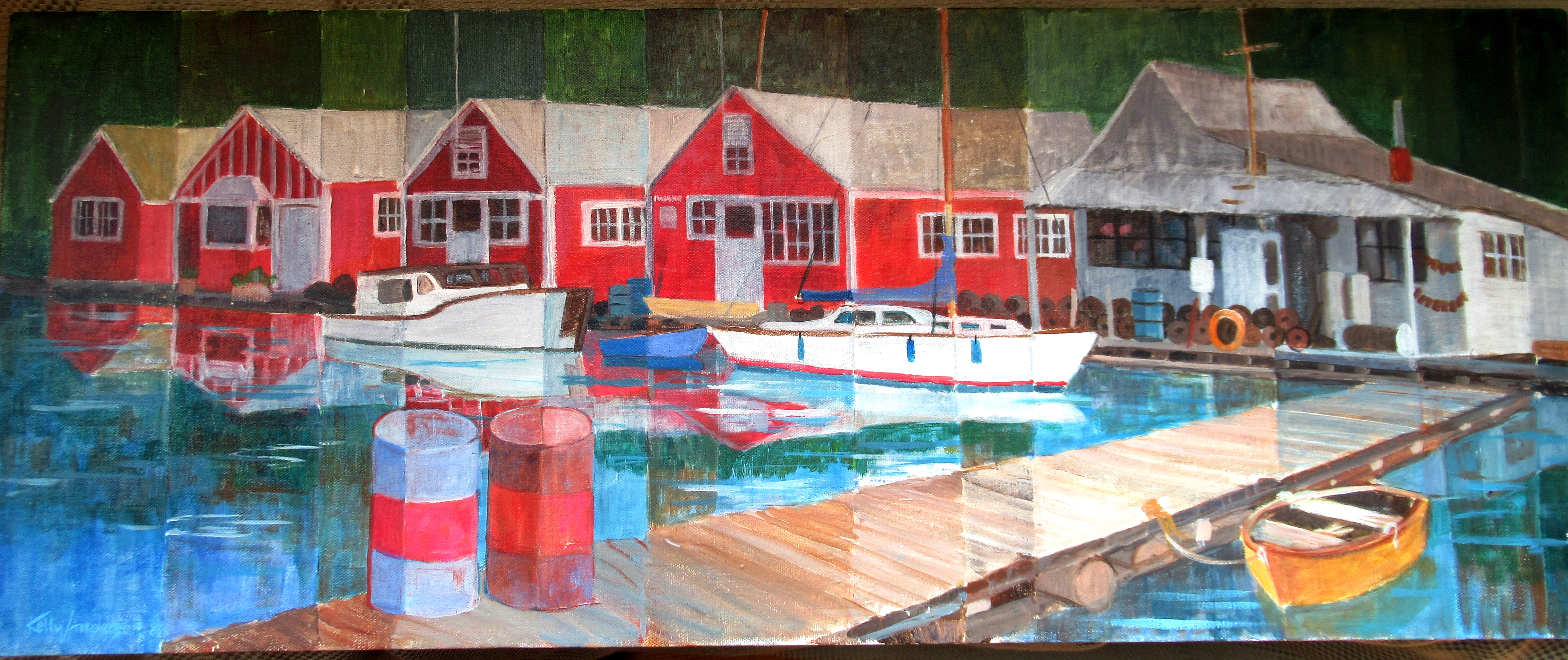 Kelly Anderson Foss painting