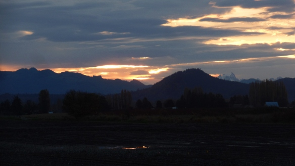 Sunrise Over Skagit County, WA