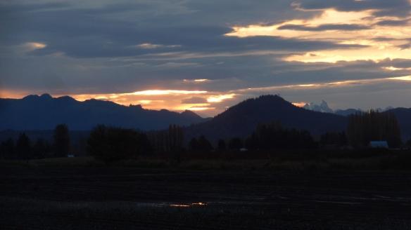 Sunrise Over Skagit County, WA