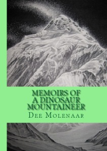 BookCoverPreview - Memoirs of a Dinosaur Mountaineer