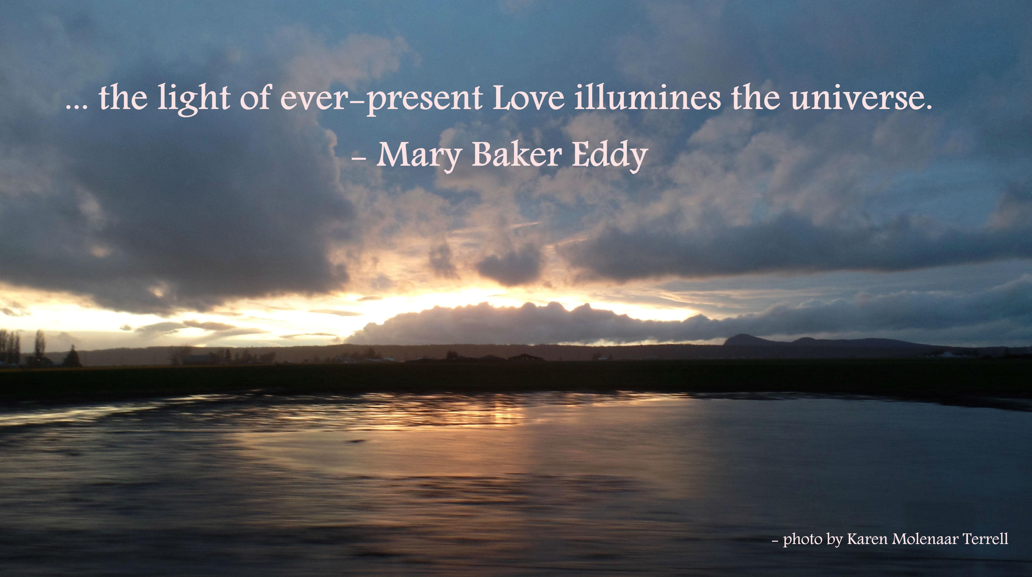 illumines the universe