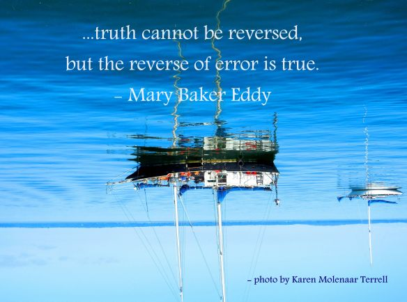 truth cannot be reversed