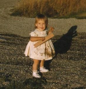 baby Karen in dirty dress