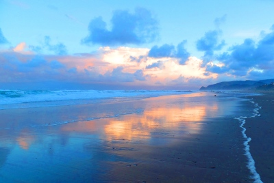 Sunrise at Lincoln City