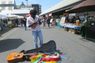Musician at the Bellingham Farmers Market