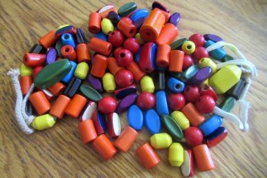 Camp Fire girl beads