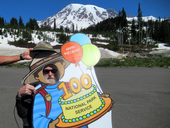 Dad and 100th birthday rainier this one