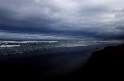 grey beach