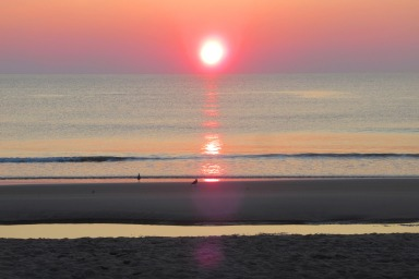 Sunrise over the Outer Banks