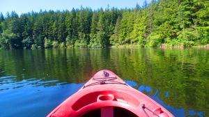 Kayaking on Lake Padden