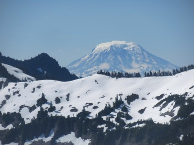 Mount Adams from Mount Rainier.